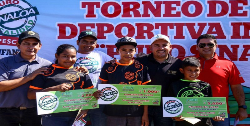 "Todo un éxito Torneo de Pesca ""Puro Sinaloa"""
