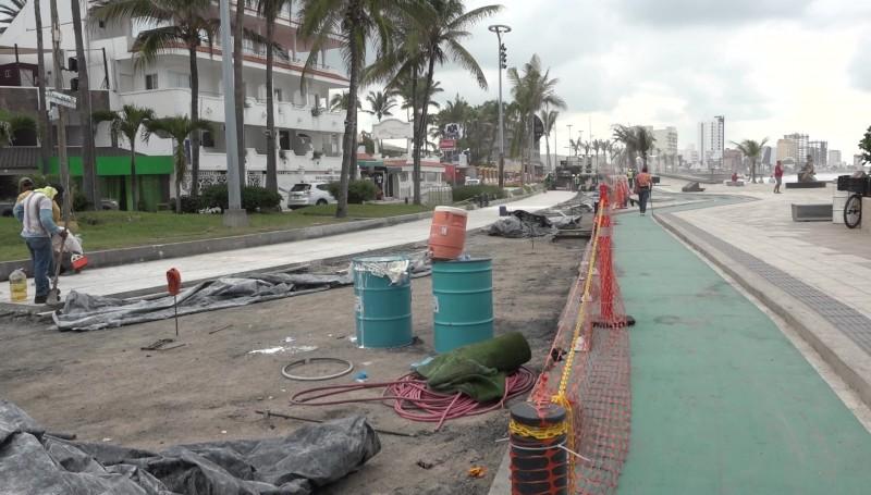 Pérdidas millonarias por cierre de comercios del Malecón: Romero
