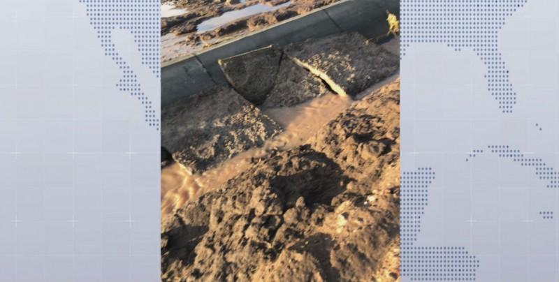 Lentitud y retrasos en la reconstrucción de la red hidroagrícola dañada