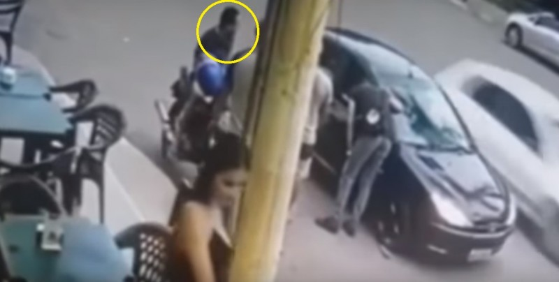 #Video Policía mata por accidente a su amigo y se pega un tiro