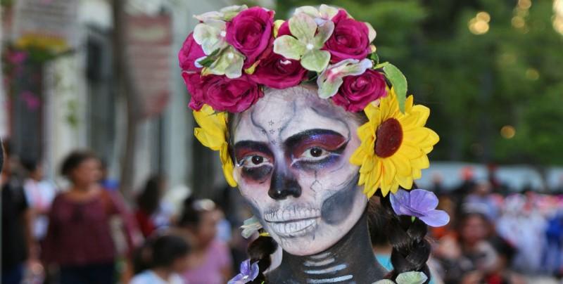 Lleno de color inicia la XXIII Celebración del Día de Muertos