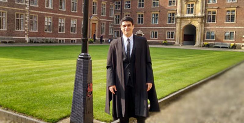 Alejandro Jiménez gana premio a 'Mejor Tesis Doctoral del Año' en Cambridge
