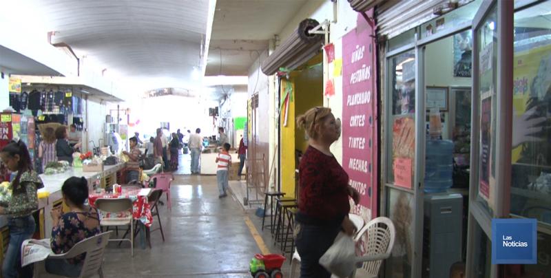 En Navojoa, cableado del mercado es un riesgo