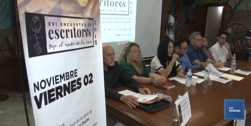 Cajeme, sede de XVI encuentro de escritores 2018