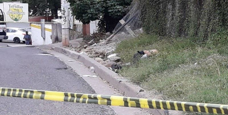 Localizan a joven asesinado en la colonia Cañadas