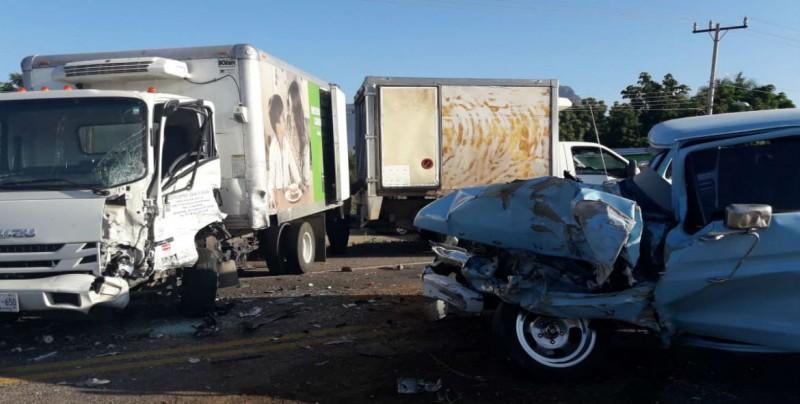 Se registra accidente en la Comisaría del Limón de los Ramos