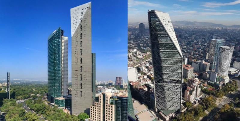 Torre Reforma, nombrada como el mejor rascacielos del mundo