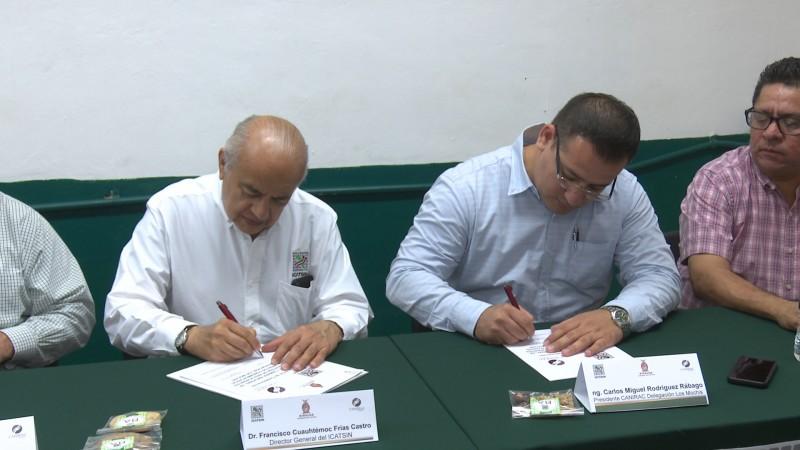 ICATSIN firma convenio con cámaras y organismos