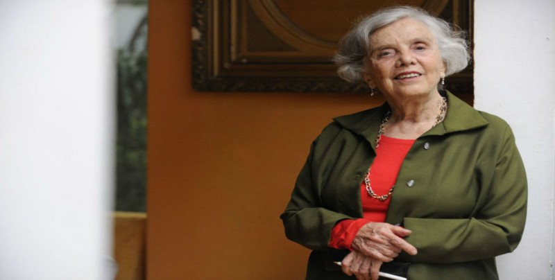 Premio Nacional Letras de Sinaloa 2018 para Elena Poniatowska