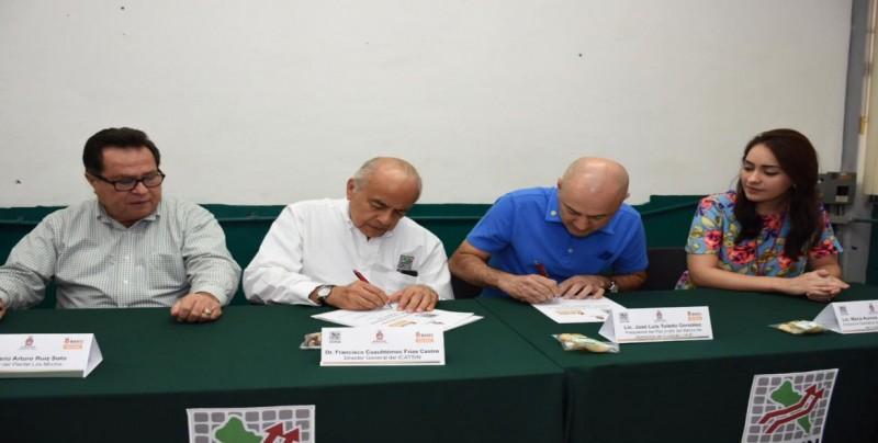 Firma ICATSIN convenios con sectores productores