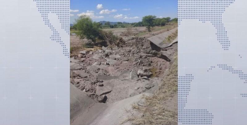 Desconoce CAADES los daños y montos que se requieren para rehabilitar canales afectados