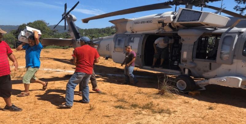 """Oaxaca sigue en emergencia por daños de tormenta """"Vicente"""""""