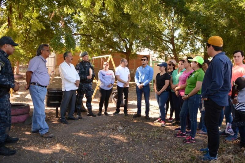 Rescatarán parques y espacios públicos en Culiacán