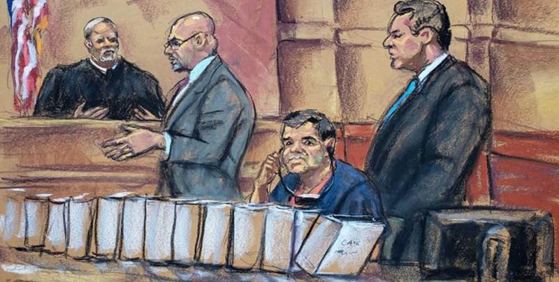 Comienza juicio contra el Chapo entre medidas de seguridad para elegir jurado