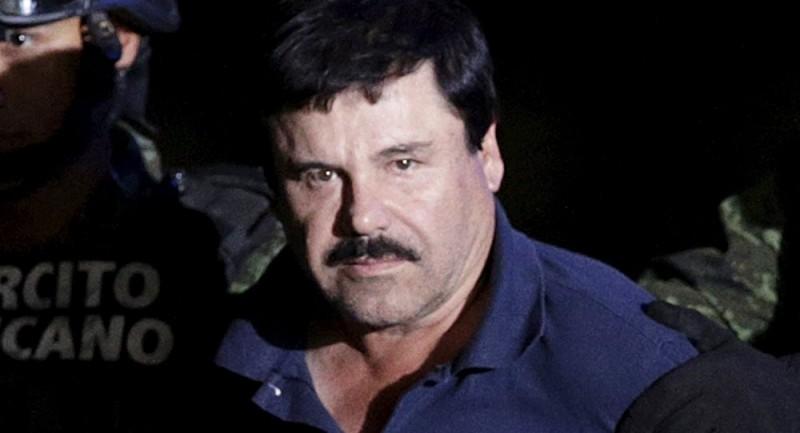 """El """"Chapo"""" Guzmán, del trono de las drogas al banquillo de la Justicia"""