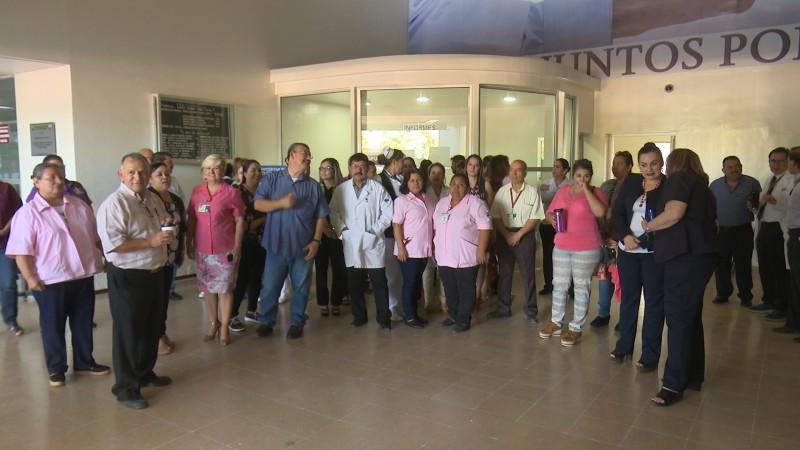 Paran labores en el hospital general de Los Mochis