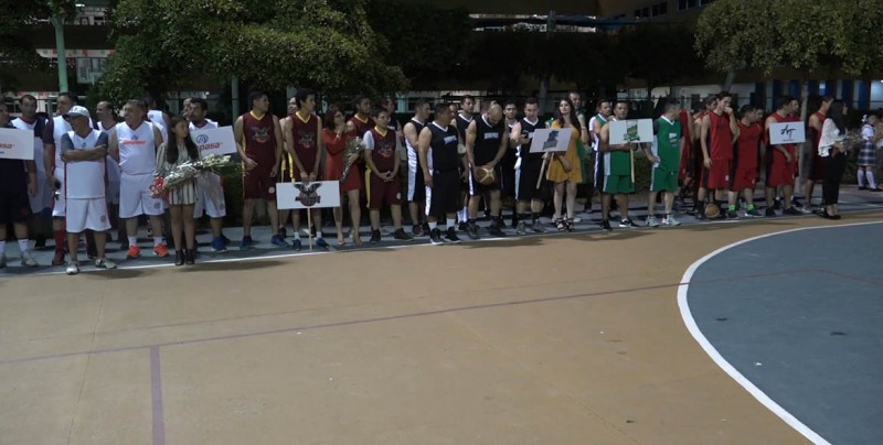 Inauguran Torneo de Basquetbol de Grupo Alerta