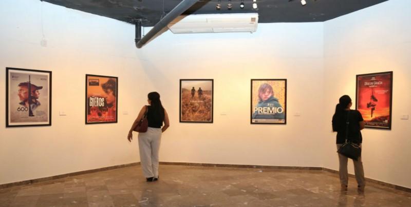 Inicia con expo de carteles la Semana de Cine Mexicano