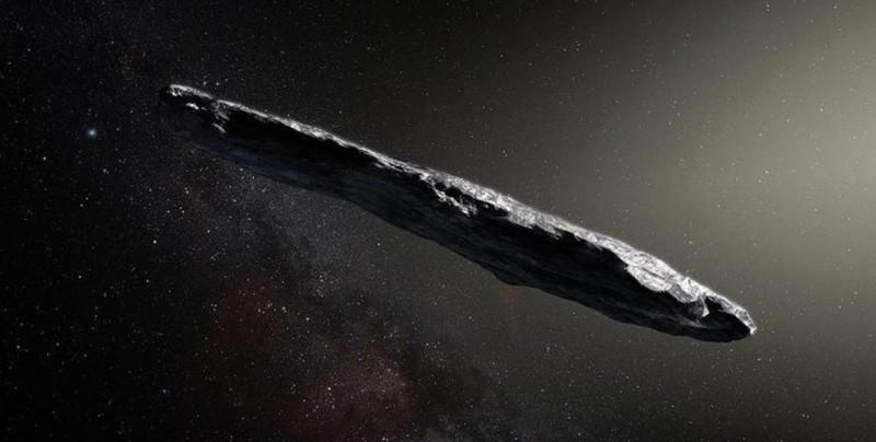 Objeto con forma de cigarrillo podría haber sido una nave extraterrestre