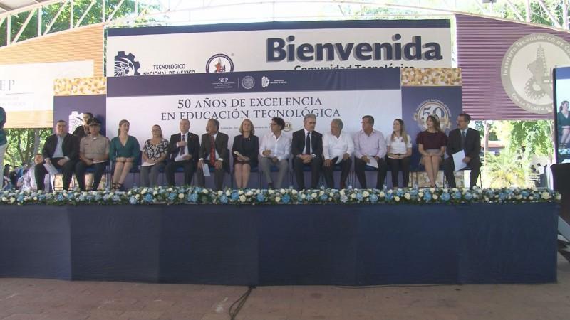 Conmemora Tecnológico de Culiacán 50 años de fundación