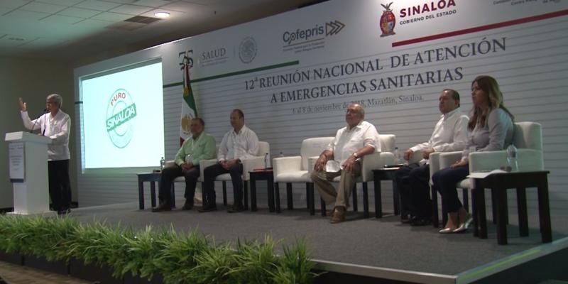 Inicia la 12ava Reunión Nacional de Atención a Emergencias Sanitarias