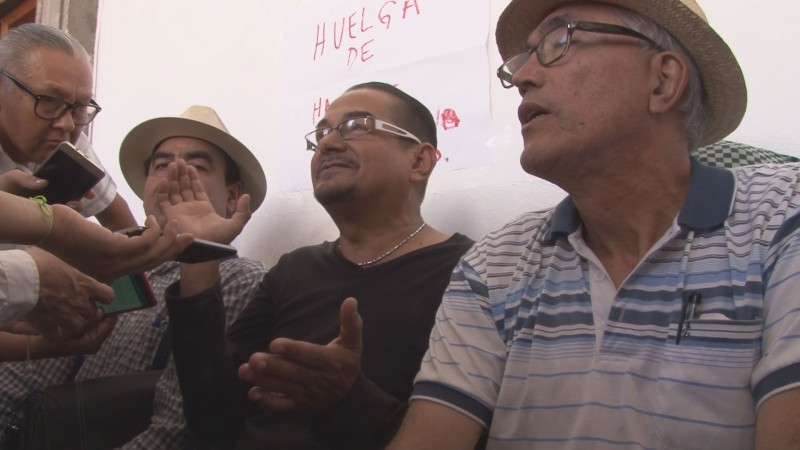 Morenistas inician huelga de hambre en el ayuntamiento de culiacán