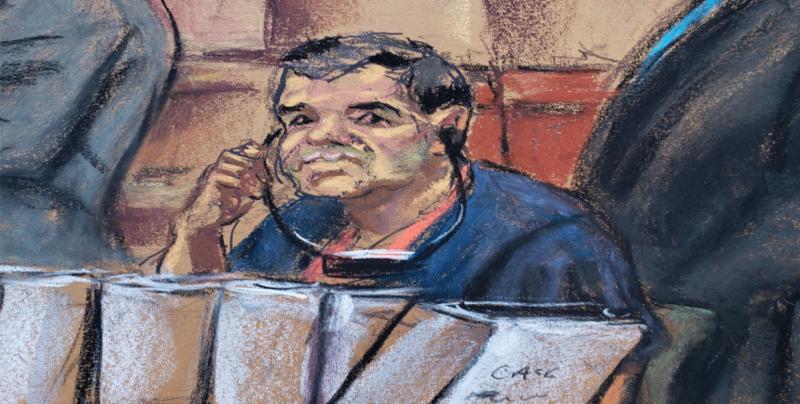 """Siete mujeres y cinco hombres decidirán el futuro de Joaquín """"El Chapo"""" Guzmán"""
