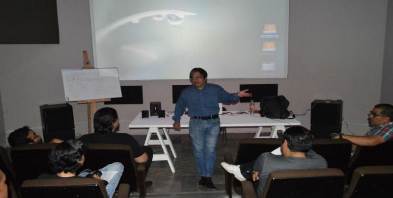 Jaime Ruiz Ibáñez imparte taller de Formación Cinematográfica
