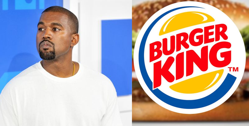 Burguer King destroza a Kanye West con un simple tweet