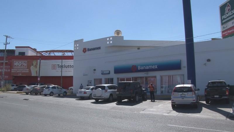 Frustran robo bancario en Culiacán