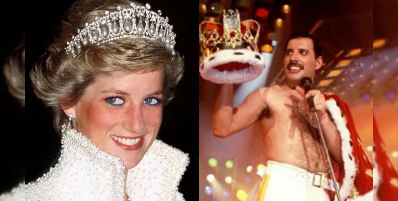 Freddie Mercury vistió de hombre a Lady Di para entrar a un bar gay
