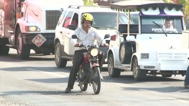 Tránsito Municipal exhorta a respetar límites de velocidad