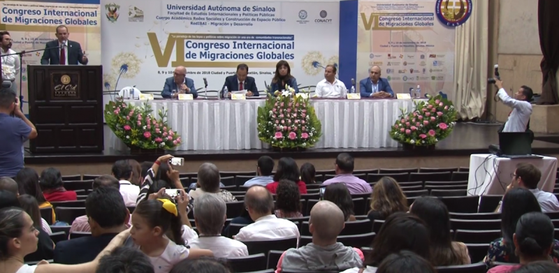 Inicia en Mazatlán el VI congreso internacional de migración