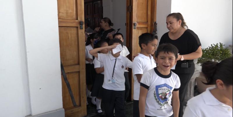 Más de 600 niños acuden a muestra de danza en el Teatro Ángela Peralta