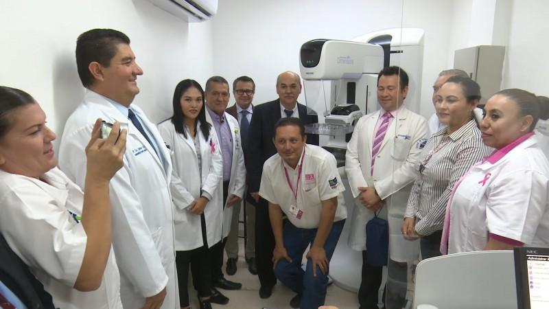 Cuenta Hospital general de Los Mochis con tomógrafo y mastografo