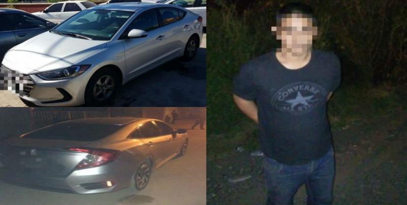 Recuperan dos autos con reporte de robo