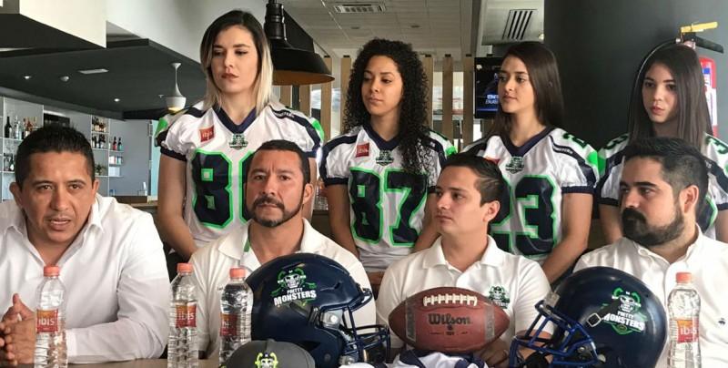 Presentan la Liga de Football Americano categoría Arena Equipado