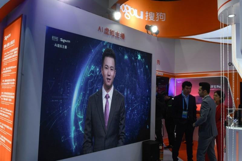 China tiene al primer conductor de noticias con inteligencia artificial