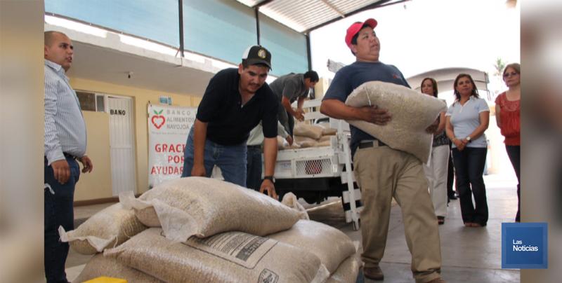 En Navojoa, Banco de Alimentos tendrá bazar