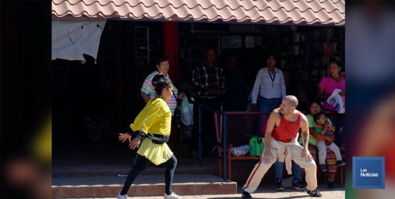 """En Navojoa, presentan """"Danza en la Calle"""""""