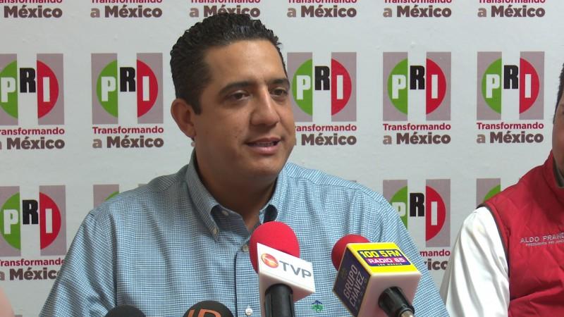 Buscará reforzar las filas del PRI al llegar a la dirigencia estatal: Jesús Valdéz