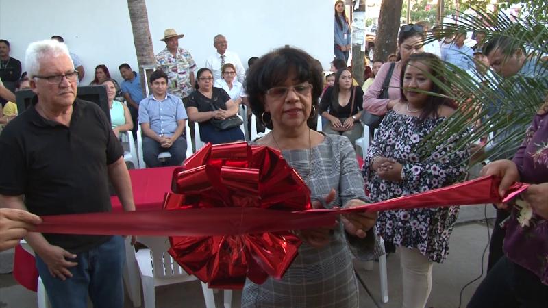 Olegaria Carrazco inaugura oficina de gestoría