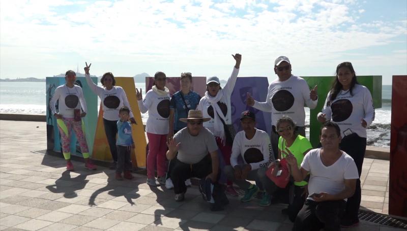 Vienen a participar en Maratón y a disfrutar de Mazatlán