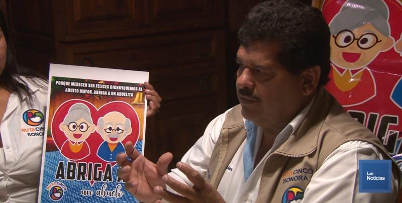 Recabarán apoyos para abuelitos en situación vulnerable de Cajeme