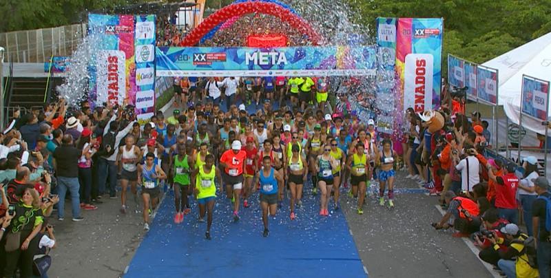 Gran fiesta se vivió en el Maratón Pacífico Mazatlán 2018