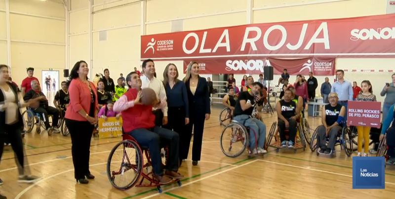 Beneficiaron a basquetbolistas con sillas de ruedas deportivas