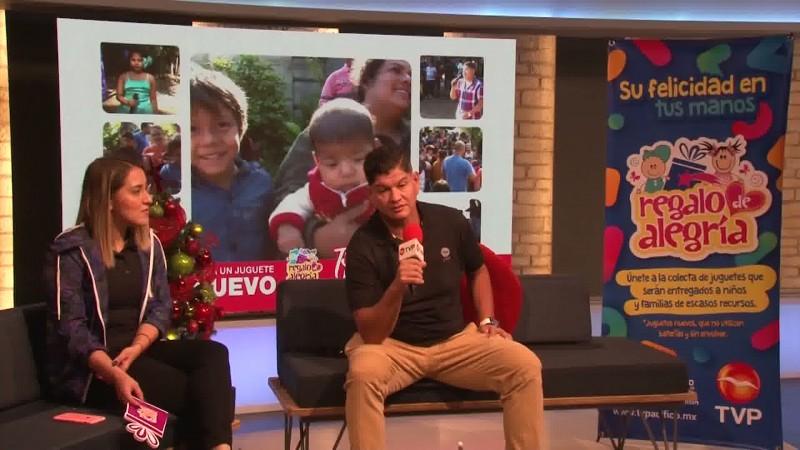 """Inicia la campaña """"Regalo de Alegría"""" de TVP Mazatlán"""
