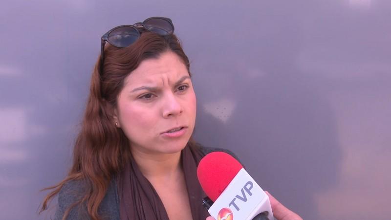 Solicita familia de joven accidentada apoyo para gastos médicos