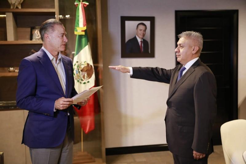 Cristóbal Castañeda nuevo Secretario de la SSP