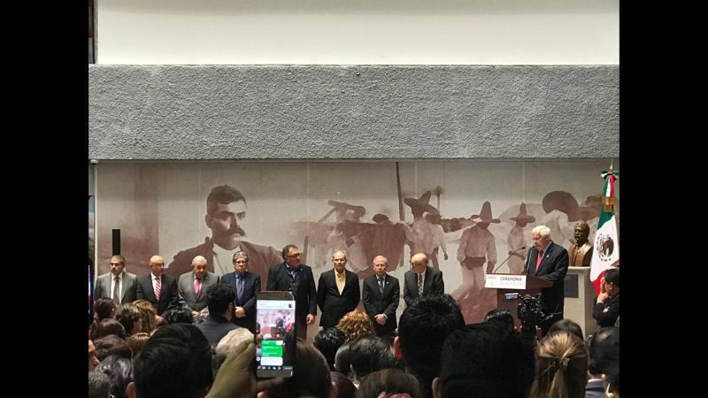 Ratifican al Dr. Enrique Sánchez Cruz en SENASICA